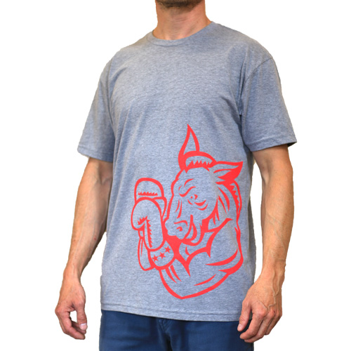 FLC Power Animal T-Shirt GREY