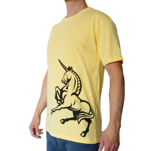 FLC Power Animal T-Shirt Yellow